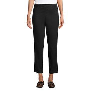 Lands End pull on chino ankle pants 16